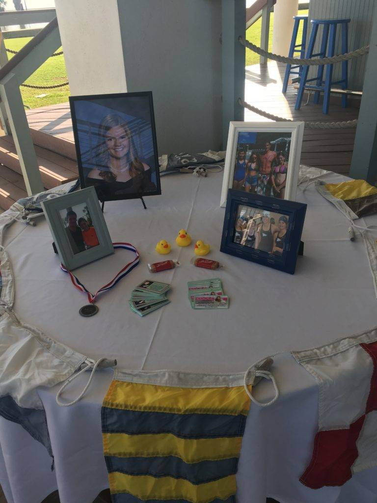Brooke Posey Memorial Table