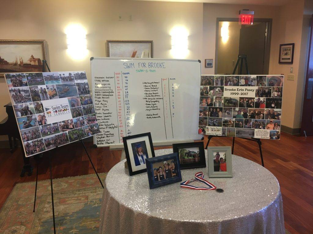 Brooke Posey Memorial at the 2017 Swim Banquet
