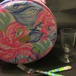 Lilly Pulitzer Picnic Basket