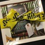 New Orleans Themed Serving Platter and 2 autographed Novels