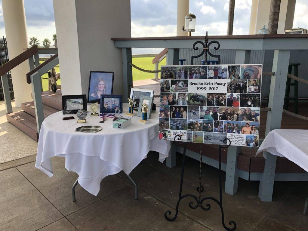 Brooke Posey Memorial table