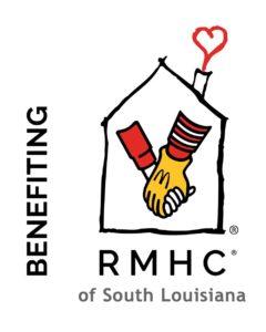 Benefiting RMHC-SLA Logo